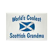 Coolest Scottish Grandma Rectangle Magnet