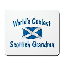 Coolest Scottish Grandma Mousepad