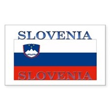 Slovenia Rectangle Decal
