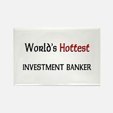 World's Hottest Investment Banker Rectangle Magnet