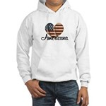 Americana Heart Hooded Sweatshirt
