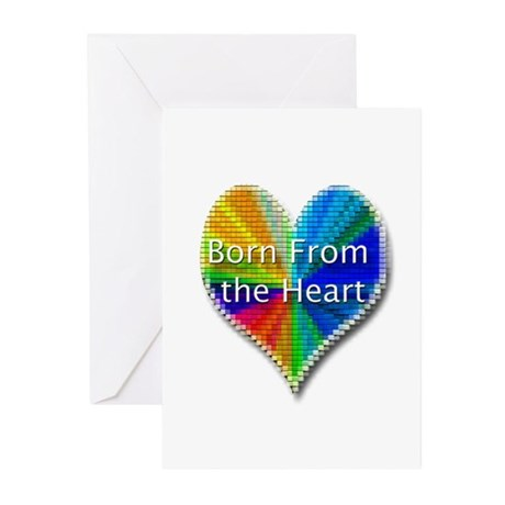 Born From the Heart Greeting Cards (Pk of 10)