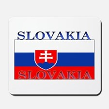 Slovakia Slovak Flag Mousepad