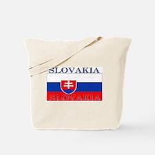 Slovakia Slovak Flag Tote Bag