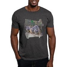 4 Meerkats Peering T-Shirt