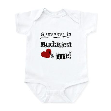 Someone in Budapest Infant Bodysuit