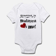 Someone in Budapest Infant Bodysuit