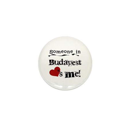 Someone in Budapest Mini Button (10 pack)