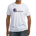 Americana Star Fitted T-Shirt