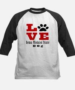 Love German Wirehaired Pointe Tee