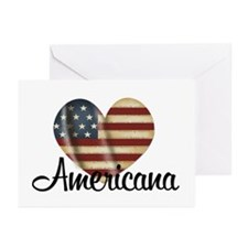 Americana Heart Greeting Cards (Pk of 10)