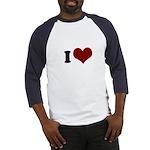 i heart Baseball Jersey