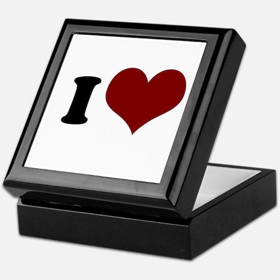 i heart Keepsake Box