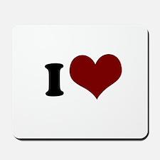 i heart Mousepad