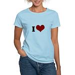 i heart Women's Light T-Shirt