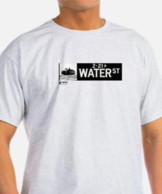 Water Street in NY T-Shirt