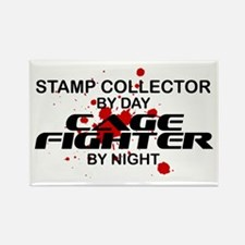 Stamp Collector Cage Fighter by Night Rectangle Ma