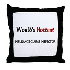 World's Hottest Insurance Claims Inspector Throw P