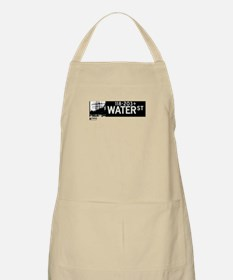 Water Street in NY BBQ Apron