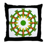 Sparkhenge Throw Pillow