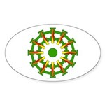 Sparkhenge Oval Sticker (10 pk)