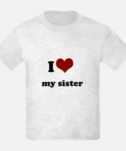 i heart my sister T-Shirt