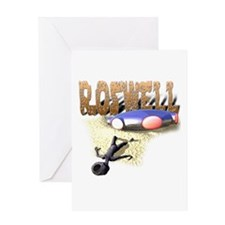 Roswell V3 Greeting Card