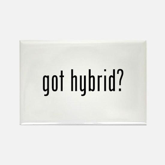 got hybrid? Rectangle Magnet (10 pack)