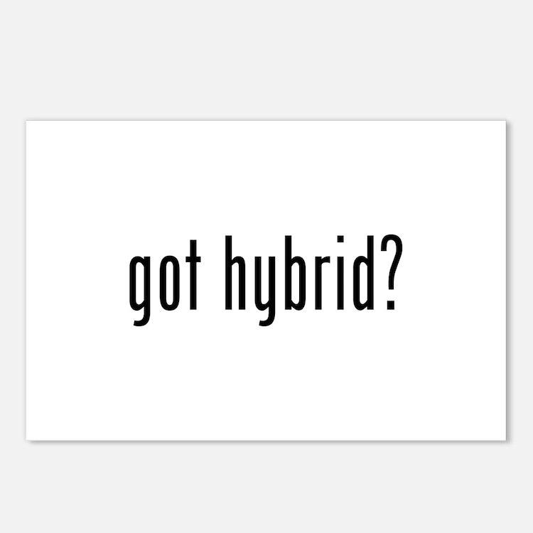 got hybrid? Postcards (Package of 8)