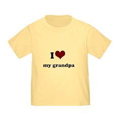 i heart my grandpa/ grandma T