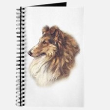 Vintage Sable Collie Journal