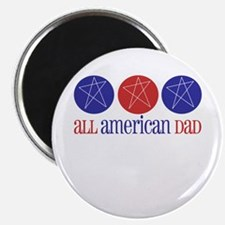 "All American Dad 2.25"" Magnet (100 pack)"