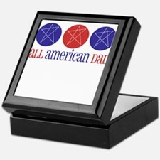 All American Dad Keepsake Box