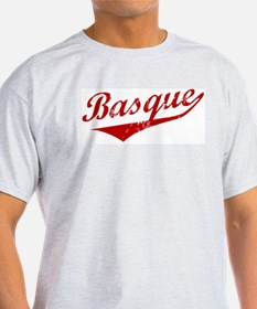 Basque Swoosh Ash Grey T-Shirt