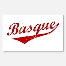 Basque Swoosh Rectangle Decal