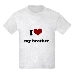 i heart my brother T-Shirt