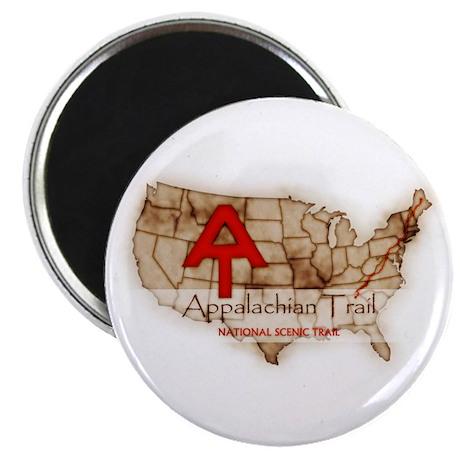 Antique Appalachian Trail Magnet