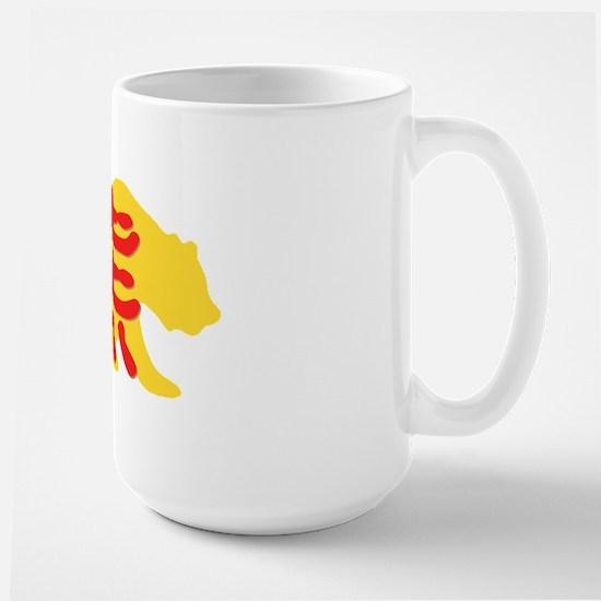 Kanji Bear Large Mug