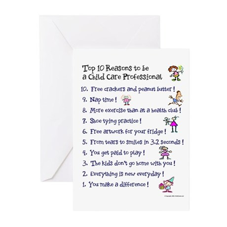 Top 10 Reasons Greeting Cards (Pk of 20)