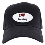 i heart to sing Black Cap