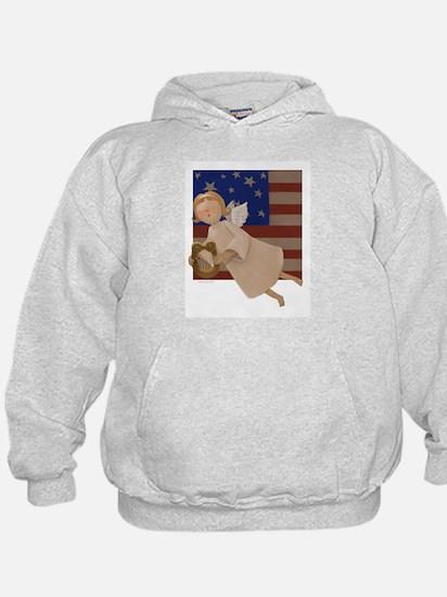 Patriotic Angel Hoody