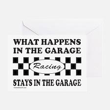 AUTO RACING Greeting Card