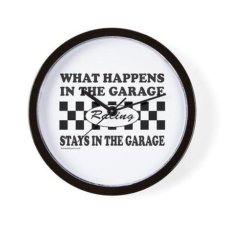 AUTO RACING Wall Clock