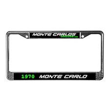 1970 Monte Carlo License Plate Frame