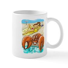 Crabby Beach Small Mug