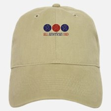 All American Dad Baseball Baseball Cap