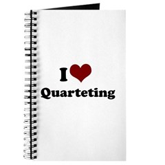 i heart quarteting Journal