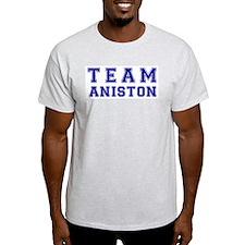 Team Aniston Ash Grey T-Shirt