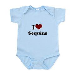 i heart sequins Infant Bodysuit