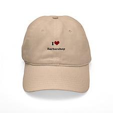 i heart barbershop Cap